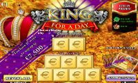 king for a day scratch