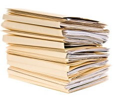 documents at an online casino