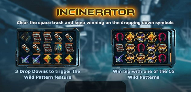 incinerator videoslot