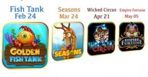 New Yggdrasil games
