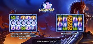 legend of the white snake lady videoslot