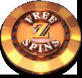 Cazino Cosmos Free Spins symbol