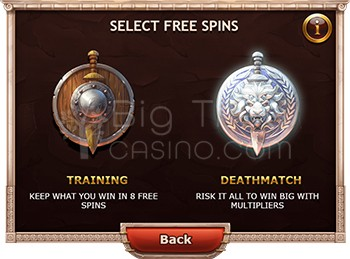 Select Free Spins