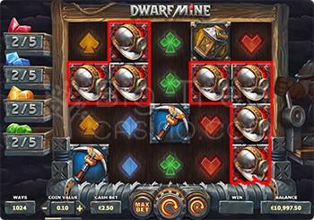 Dwarf Mine No Win