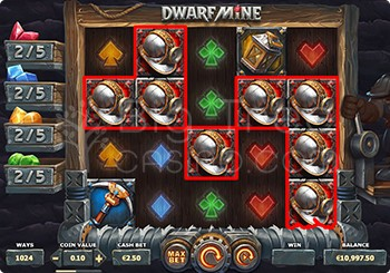 Dwarf Mine Win